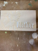 Plaster Mother's Day Plaque